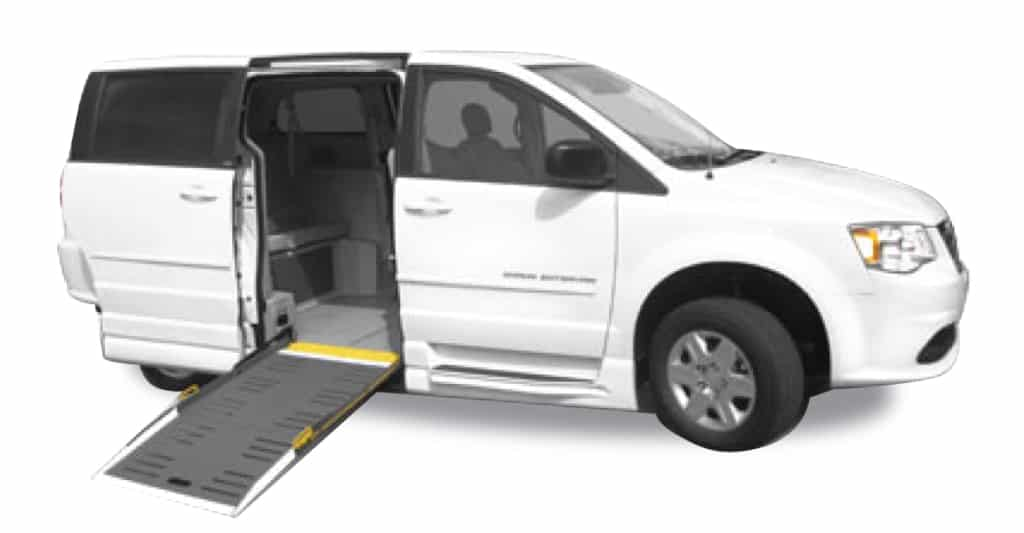 dodge grand-caravan-side-ramp-wheelchair-minivan-with-shadow