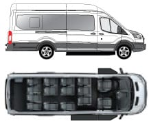 Ford Transit Passenger Vans With Upfit Commtrans
