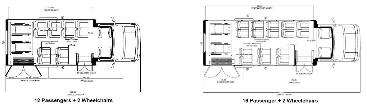 Embassy Bus Floor Plans 1