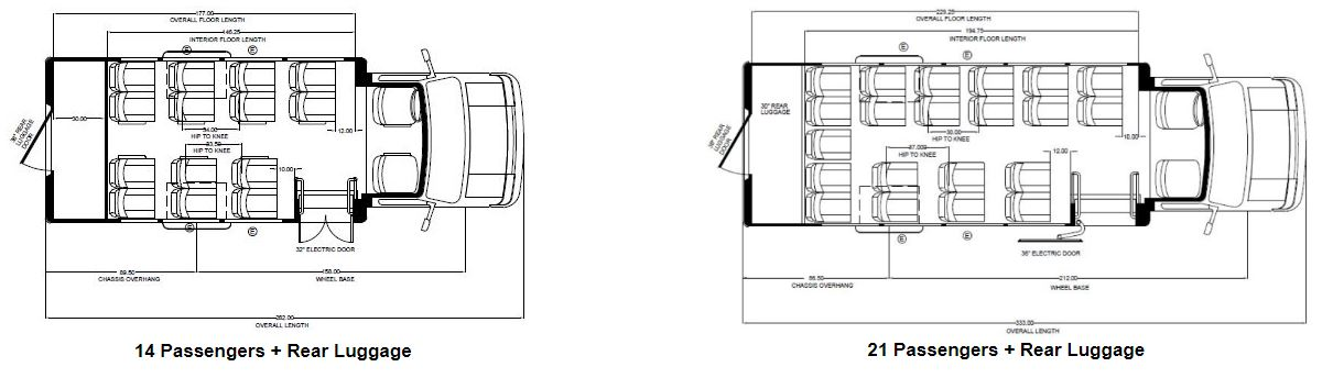 Embassy Bus Floor Plans 2