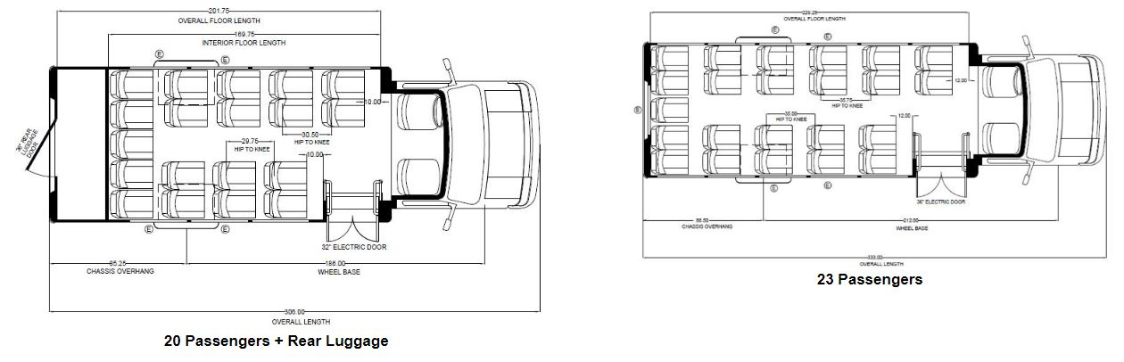 Embassy Bus Floor Plans 3