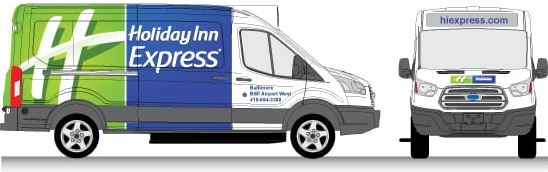 Holliday Inn Express Wrap