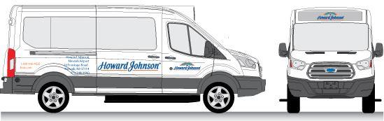 Howard Johnson Van Graphics