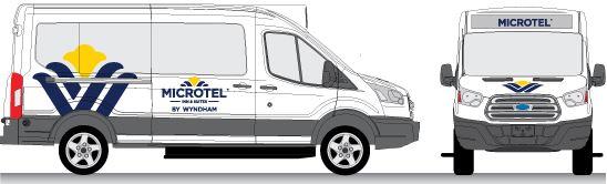 Microtel Van Graphics