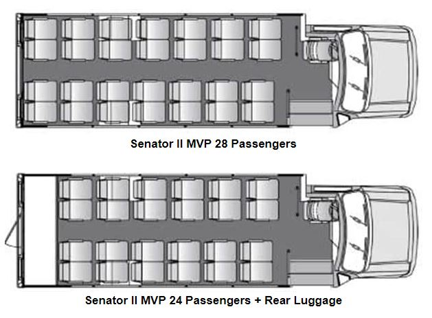 Senator MVP Floor Plans