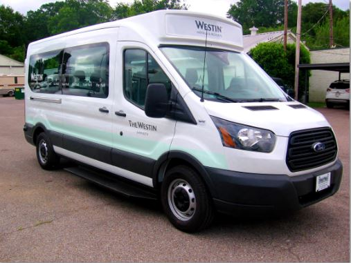 Cleveland Airport Aloft Shuttle Van