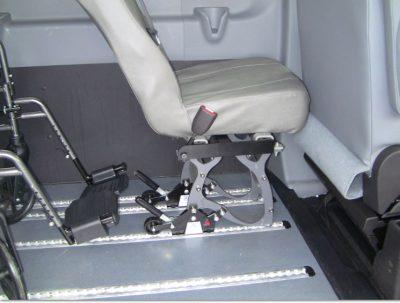 SmartFloor Wheelchair Van Locking Seats