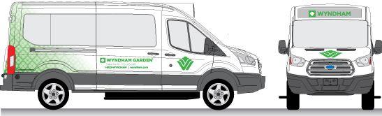 Wyndham Garden Van Wrap