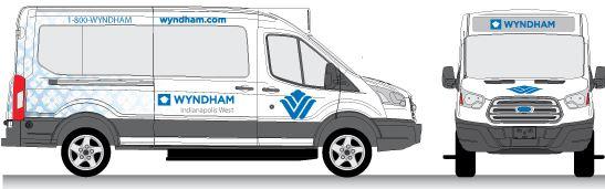Wyndham Hotel Van Wrap