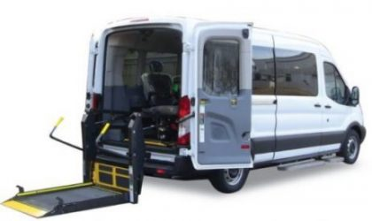 Wheelchair Van With Lift