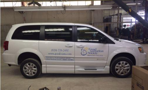 Good Samaritan Side Ramp Minivan 1 Wheelchair