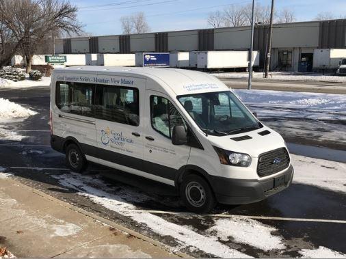 Good Samaritan Traditional Floor Transit 2 Wheelchair Van With 5 Passengers