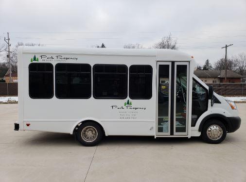 Park Regency 14 Passenger Ford Transit Bus