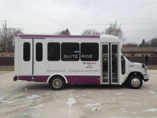 Residence Inn Senator II Bus 12 Passengers 2 Wheelchairs
