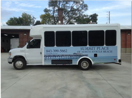Summit Place Senator II Bus 12 Passengers 2 Wheelchairs