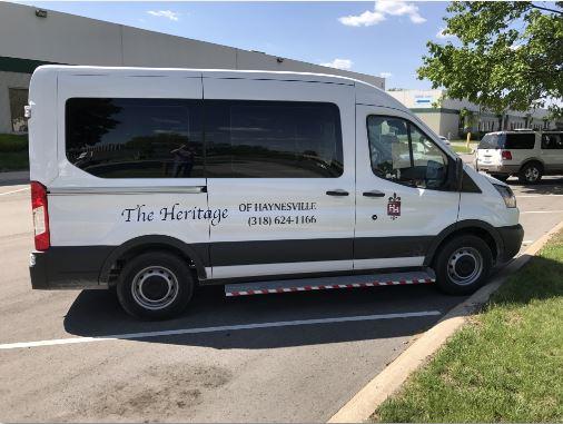The Heritage Traditional Floor Van 2 Passengers 2 Wheelchairs