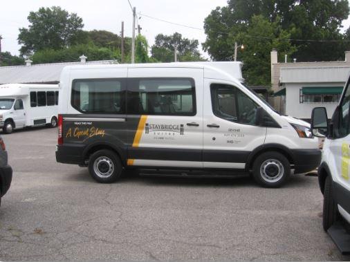 Cleveland Airport Aloft Shuttle Van