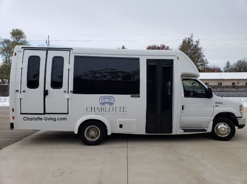 Charlotte Assisted Living E350 Bus